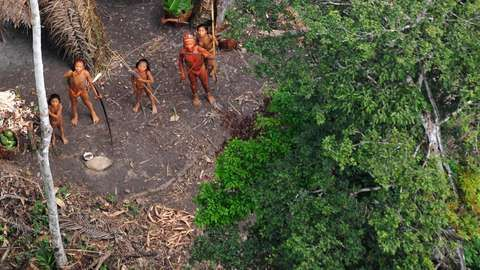 A short documentary, where the first images of a unknown tribe are retrieved by flying overhead the villiage in South America's Amazon. These people have not encountered anyone outside of their community, and are known as an 'uncontactable tribe'.