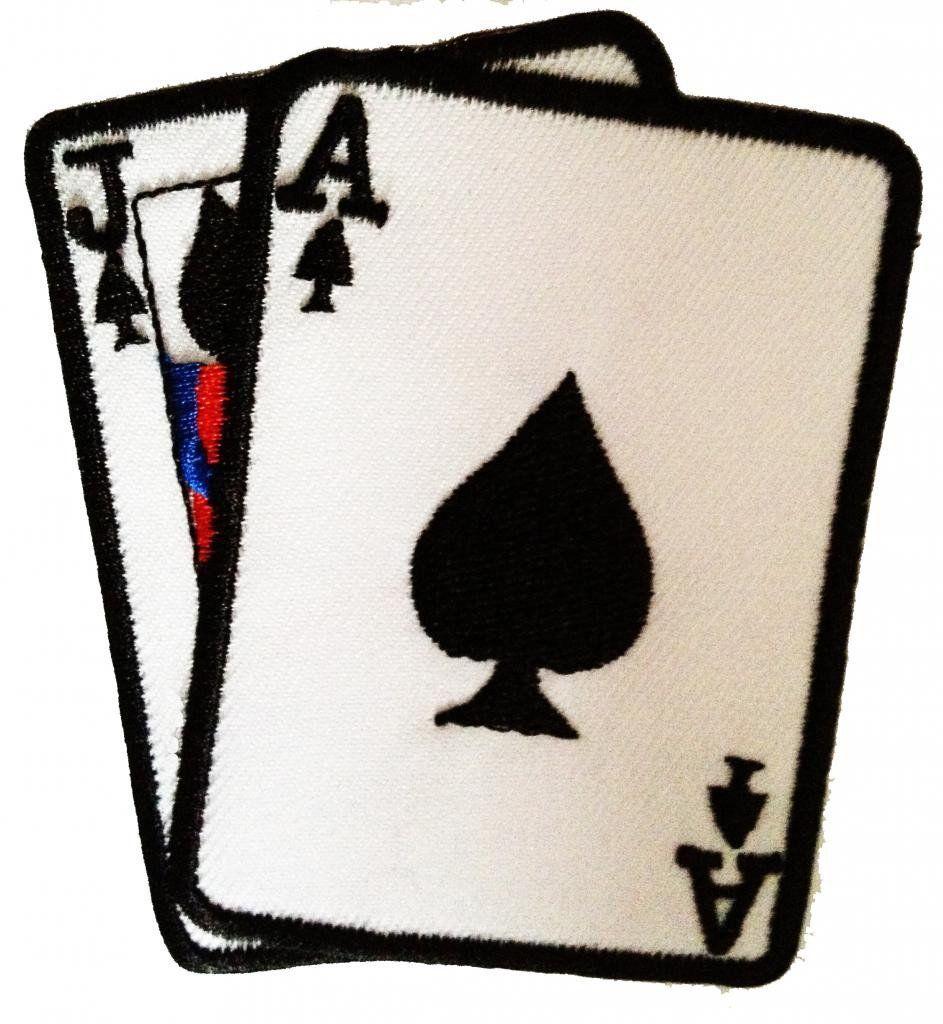 Parches Bordados Para Ropa Con Diseno De Cartas De Poker Parches Bordados Parches Parches Bordados Para Ropa