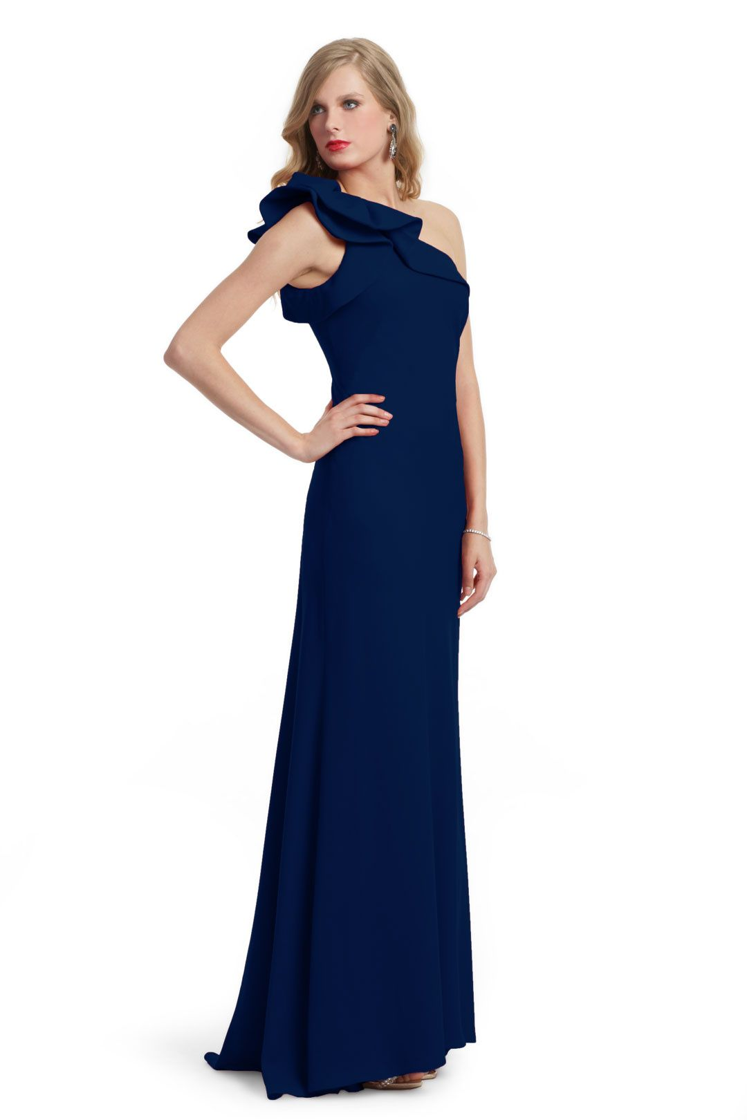 Major moment gown carmen marc valvo gowns and blue dresses