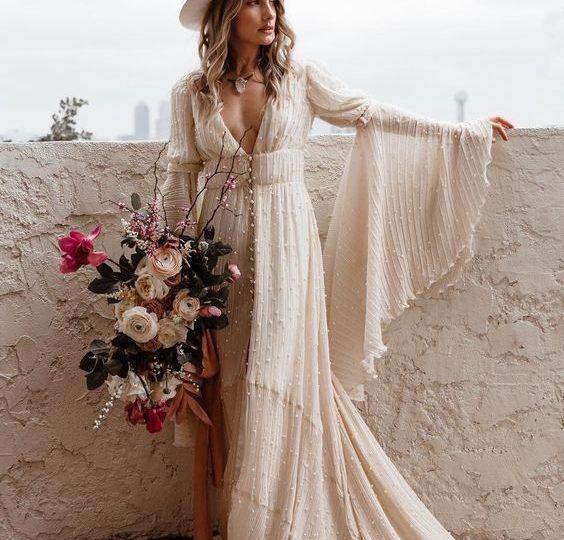 Bouquet Sposa Anni 70.Gli Stili Della Sposa La Sposa Vintage Anni 70 Abiti Da Sposa