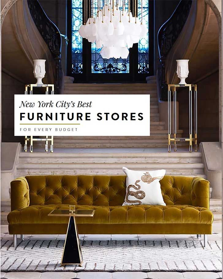 The Best Furniture Stores In Nyc For Every Budget Cool Furniture Nyc Furniture Store Design Interior