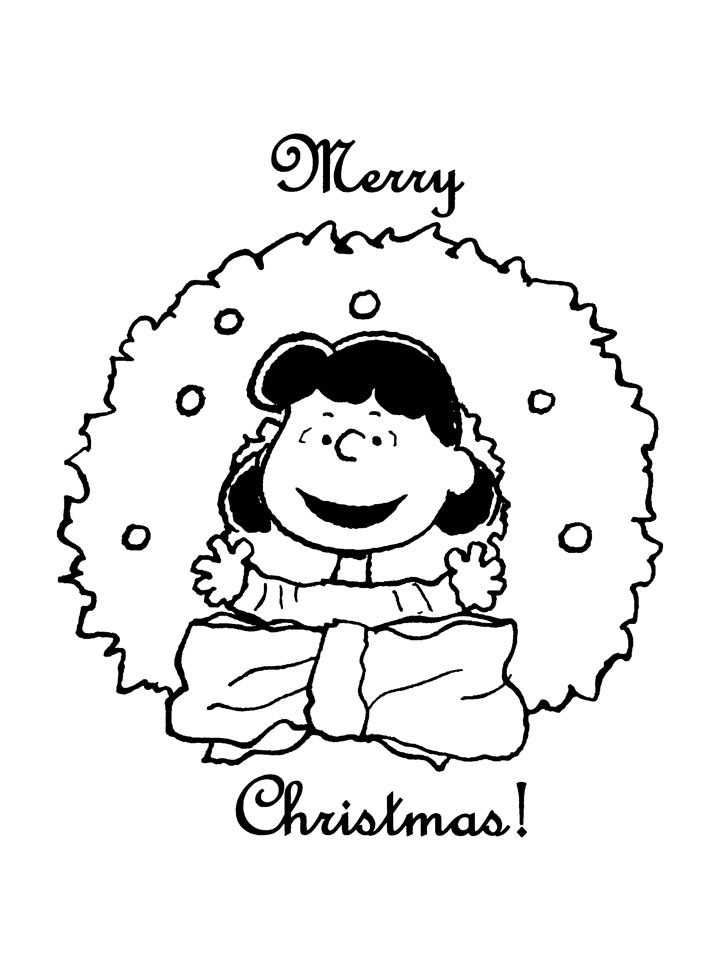 Merry Christmas! Coloring page for the students! | The Holidays ...