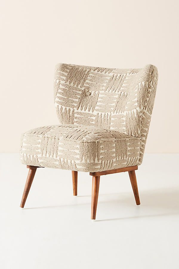 Mumbai Petite Accent Chair By Anthropologie In Beige Size All