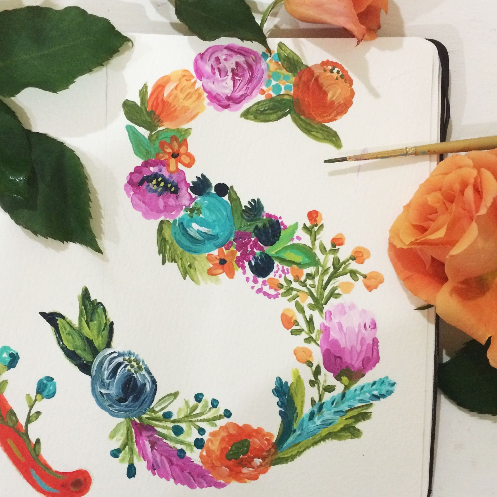 Bari J. Painting A Day Project · Cool PaintingsFloral ...