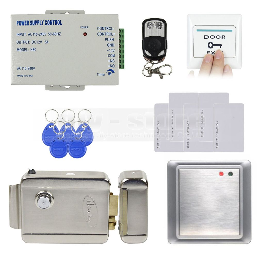 Diysecur waterproof rfid reader125khz access control