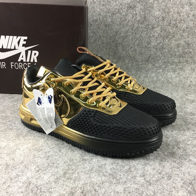 revendeur 0e505 7937a Latest and Newest NIKE LUNAR FORCE 1 LOW DUCK BOOT Black ...