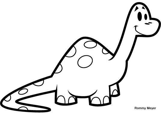 dinosaurio  Colorear Dibujos infantiles y Infantiles