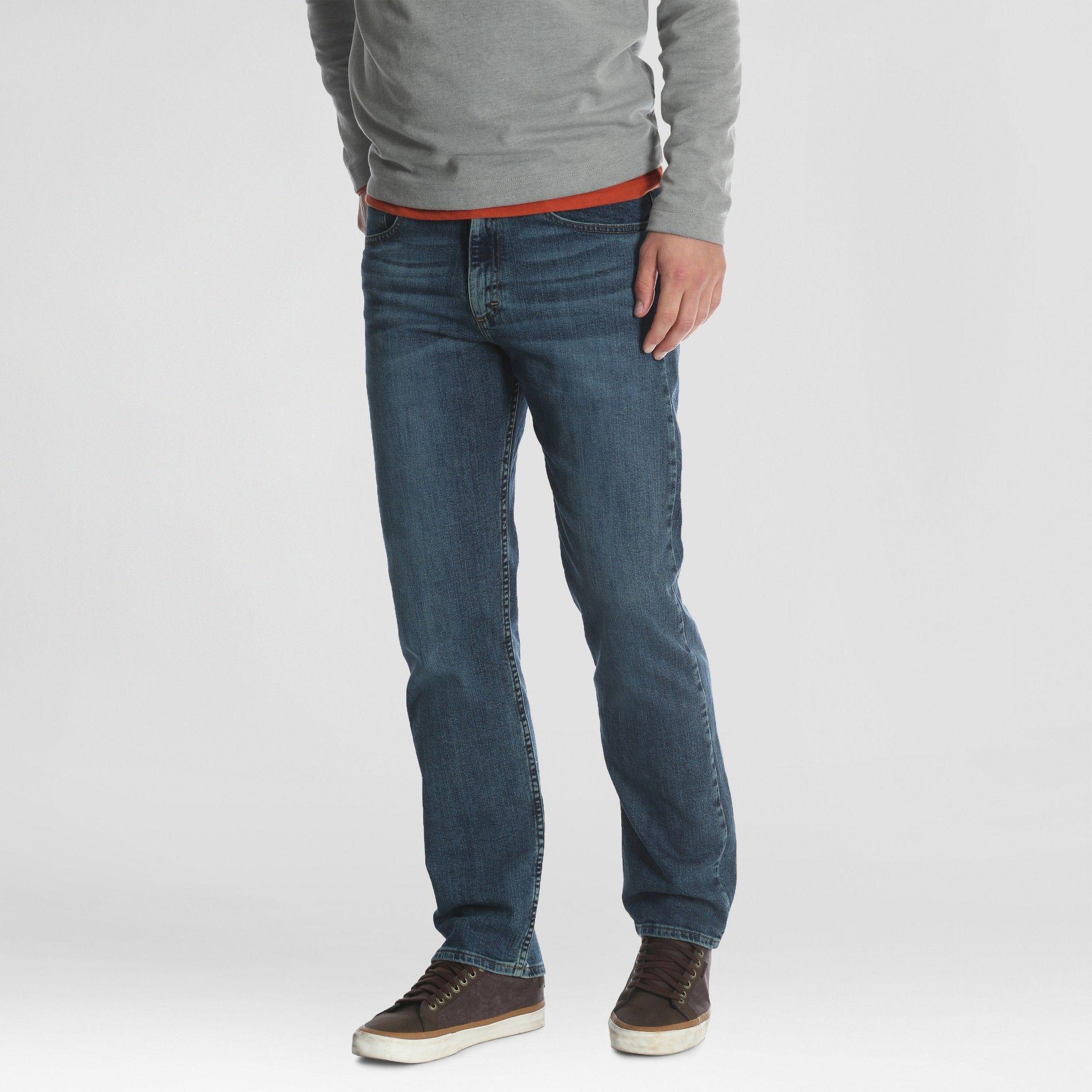 Wrangler NEW Solid Men/'s Performance Series Outdoor Comfort Straight Leg Pants