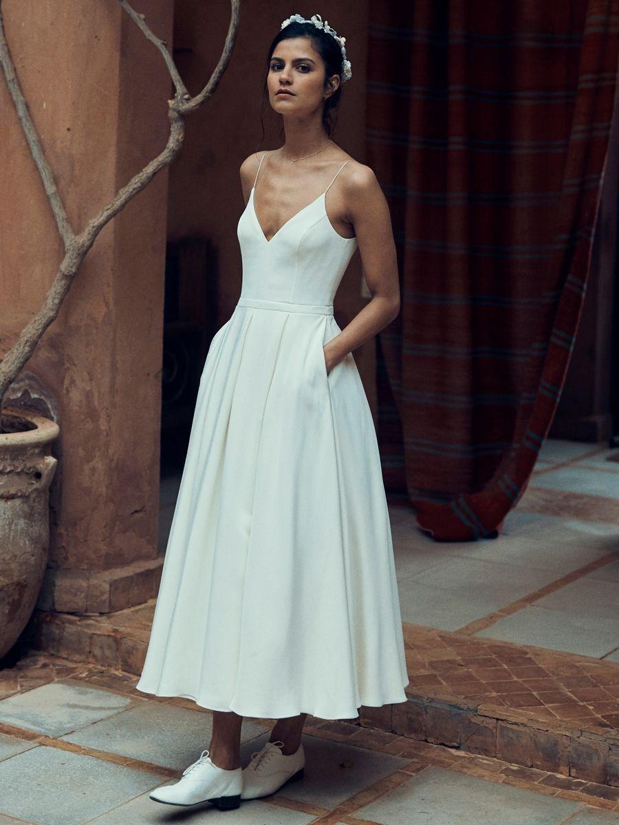 Divine Atelier 2020 Wedding Dresses Wedding Inspirasi Boho Chic Wedding Dress Wedding Dresses High Low Wedding Dress Trends [ 1472 x 736 Pixel ]