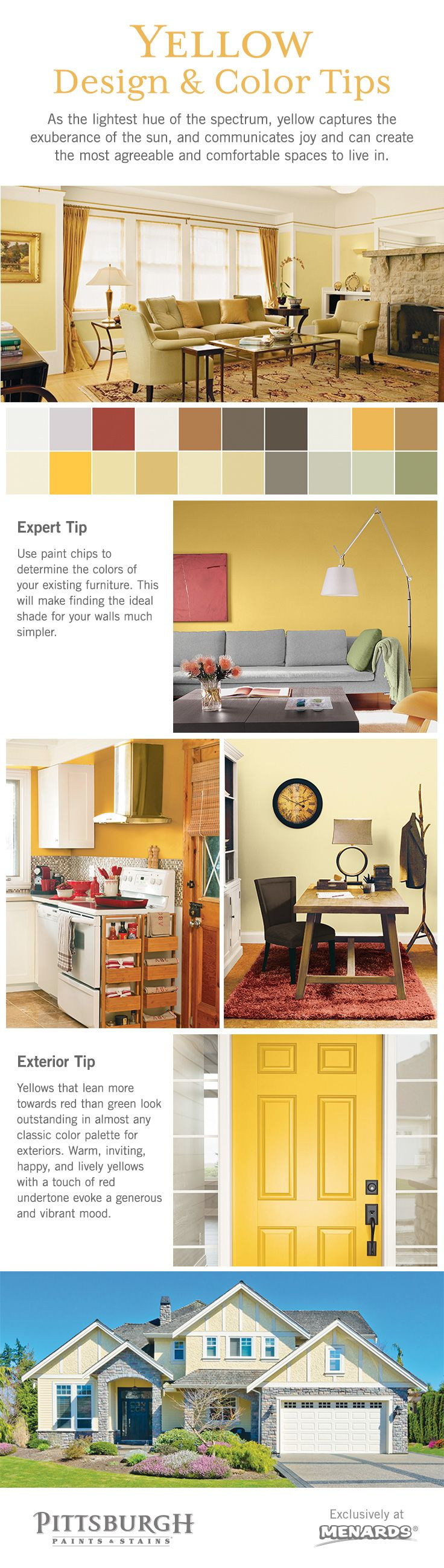 Yellow Color & Design Inspiration! As the lightest hue of the ...