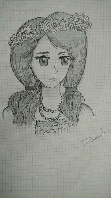 Art Eyes Innocent Sketch