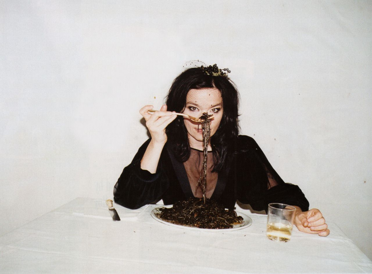 Eat The Menu Of All Colors Food Baby Juergen Teller Bjork Fashion