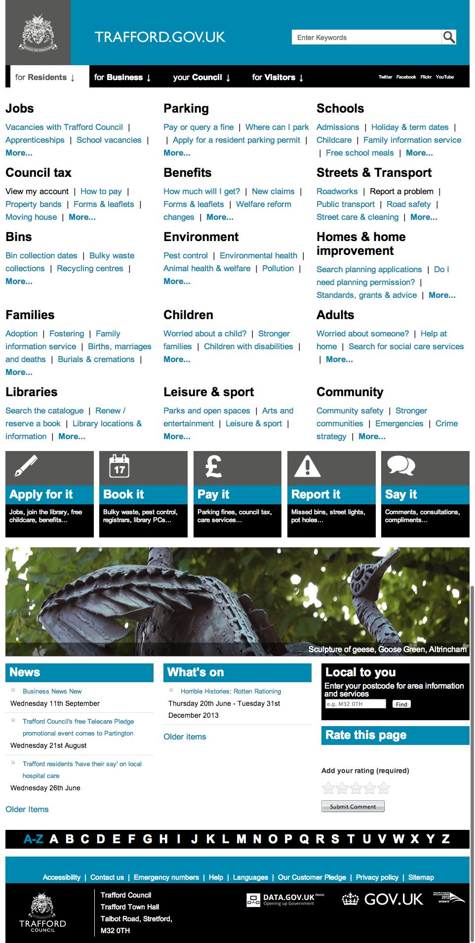 Council Website Design Http Council Visionict Com Family