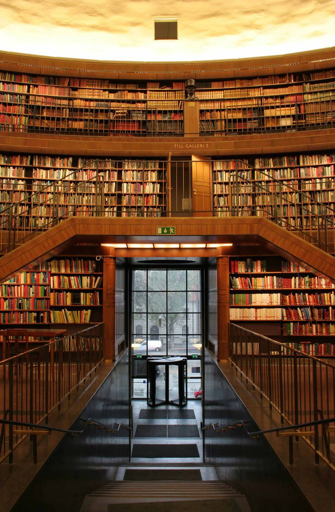 Main Entrance Home Libraries Architecture Dream Library