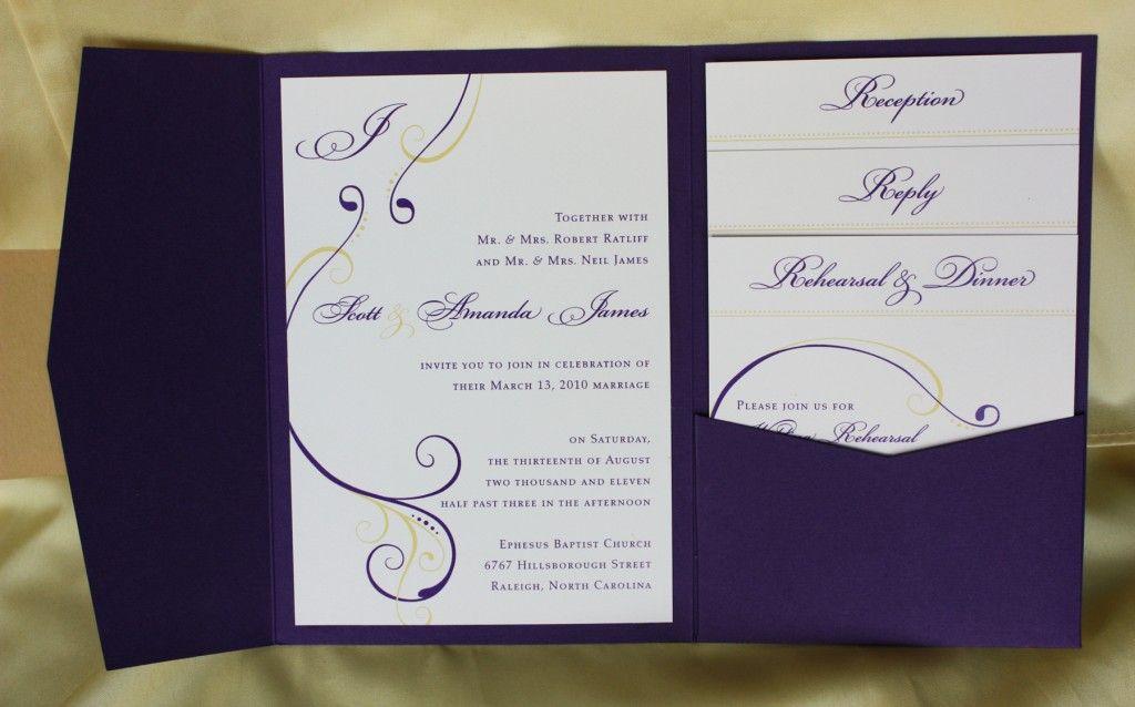 Images of Wedding Cards Invitation for Inspiration – Pocket Invitation Card