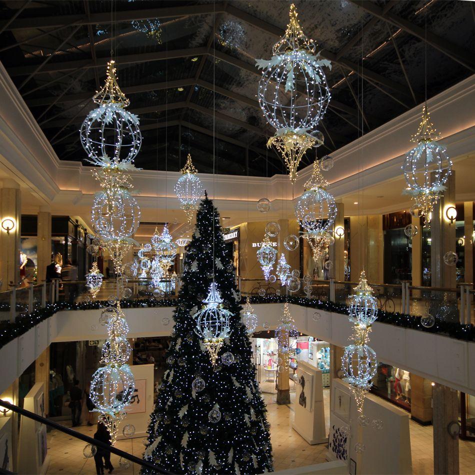 Christmas Decorations In Shopping Malls: Blachere México Decoración De Centros Comerciales, Diseños