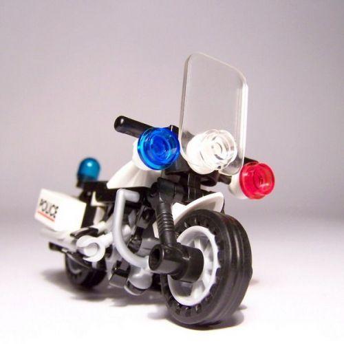 Police bike: A LEGO® creation by Noddy ... : MOCpages.com