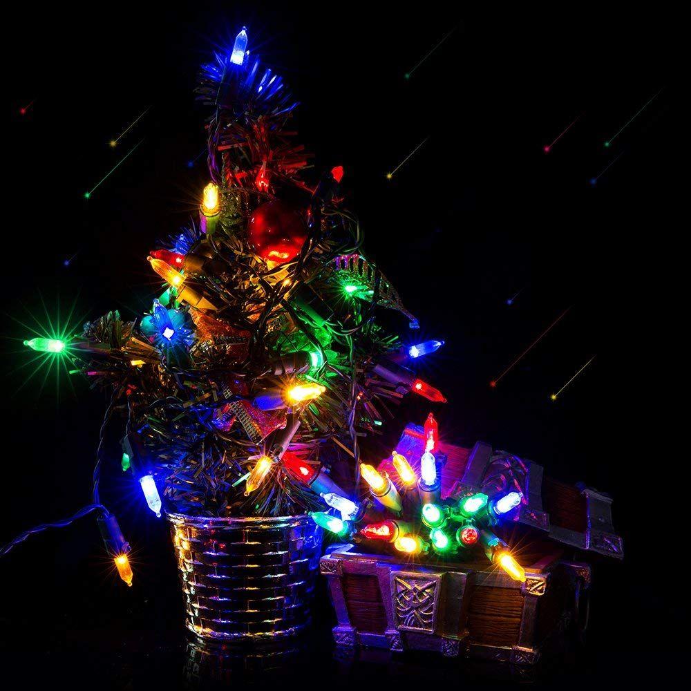 Battery String Lights Christmas Lights Flight 50led Mini Lights