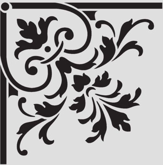 Pin de christian en marcos vintage estarcido en paredes - Plantillas de letras para pintar paredes ...