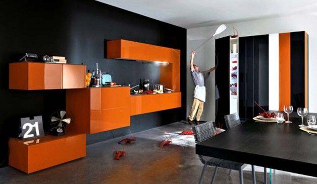 25 Amazing Orange Interior Designs Home Interior Design Modern