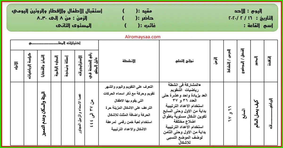 شبكة الروميساء التعليمية تحضير المستوى الثاني لرياض الاطفال من الاحد 16 فبر Periodic Table R 11
