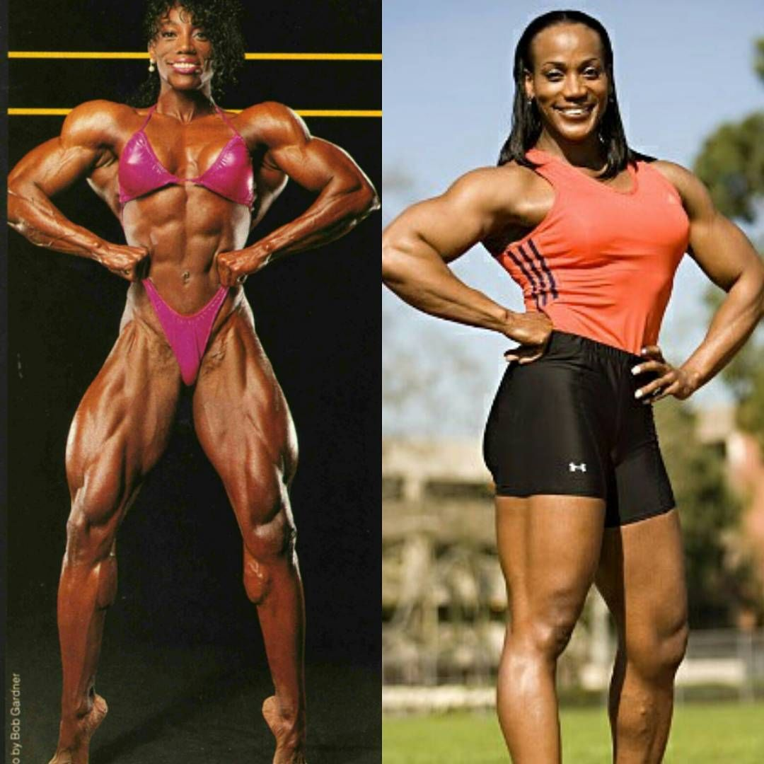 Lenda Murray (the female Haney) Early 90's-today at 55 # ...