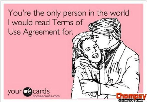 terms of agreement