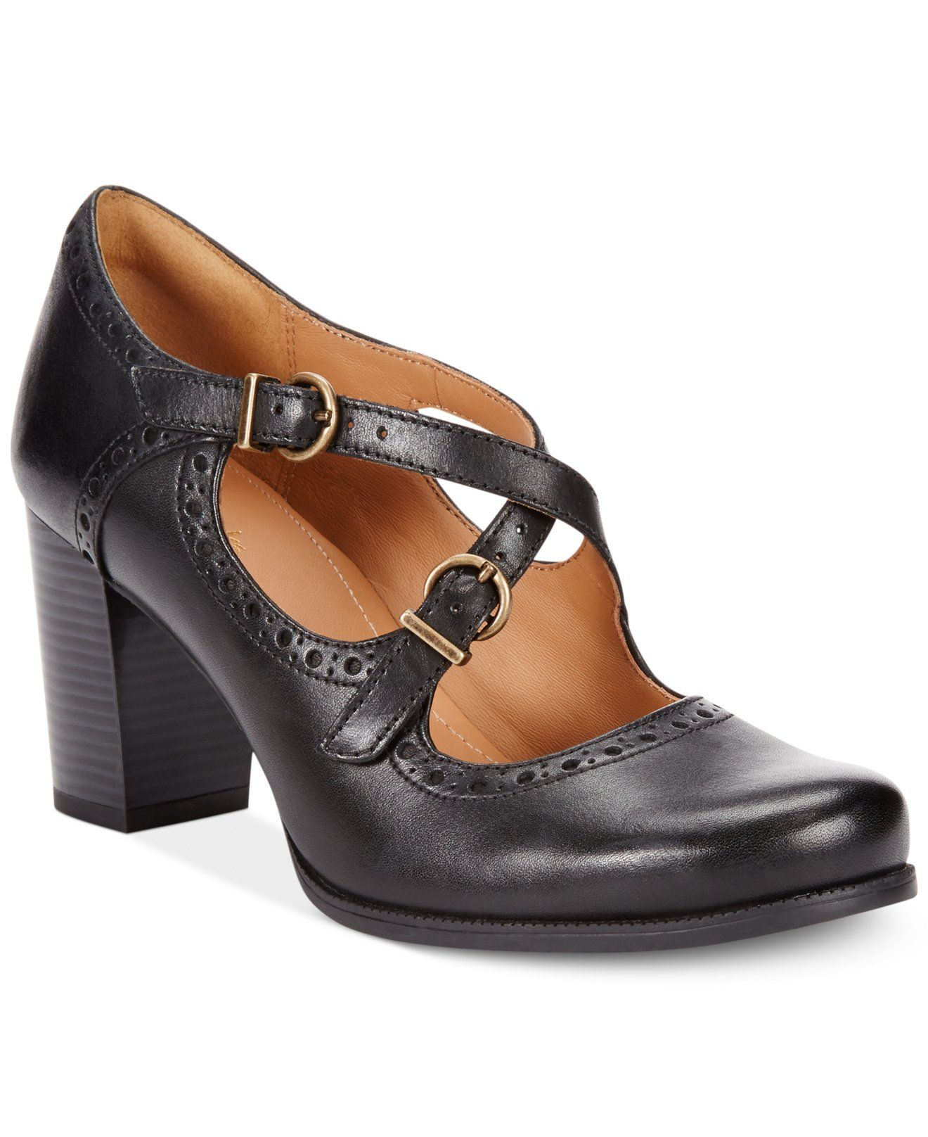 macy's clarks ladies shoes