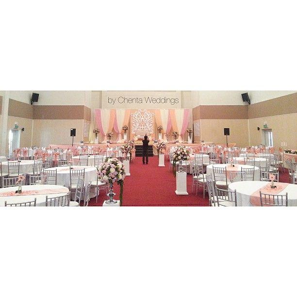Coral Wedding Reception Ideas: Peach & Coral Wedding Reception Theme