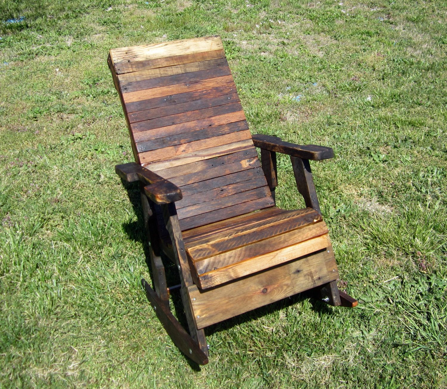 Attrayant Reclaimed Wood Rocking Chair Indoor Or By CountryByTheBumpkins, $480.00