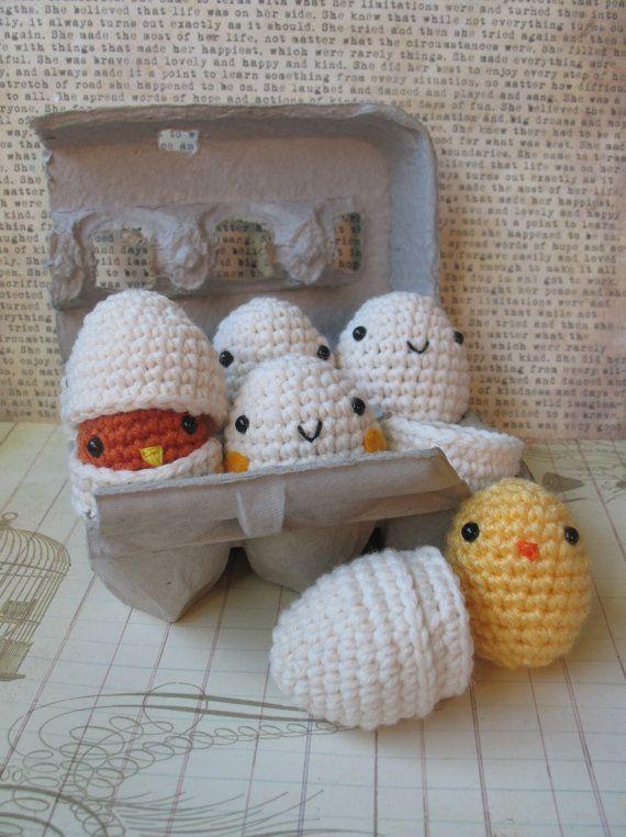 pajaritos tejidos a crochet patrones gratis - Buscar con Google ...