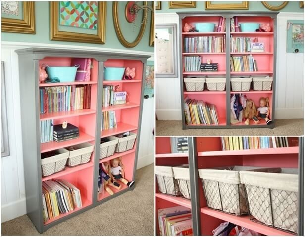 Creative Bookcase Ideas For Your Little Readers