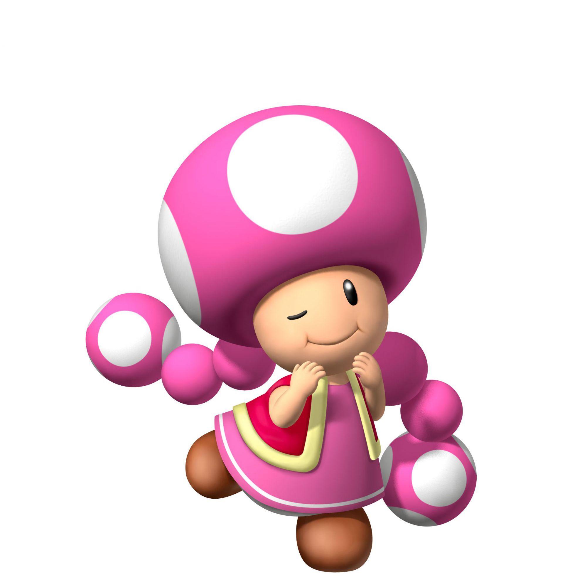 Pink Mushroom from nintendo games | Video Games | Pinterest | Mädchen