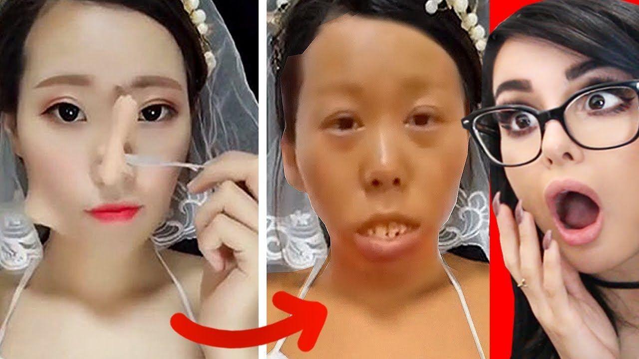 crazy viral asian makeup transformations + tutorials