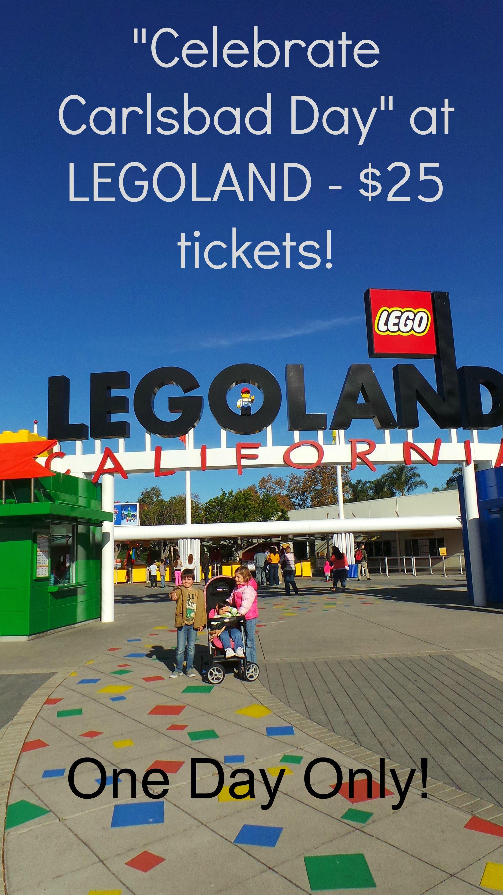 Celebrate Carlsbad Day At Legoland Legoland California Legoland Carlsbad