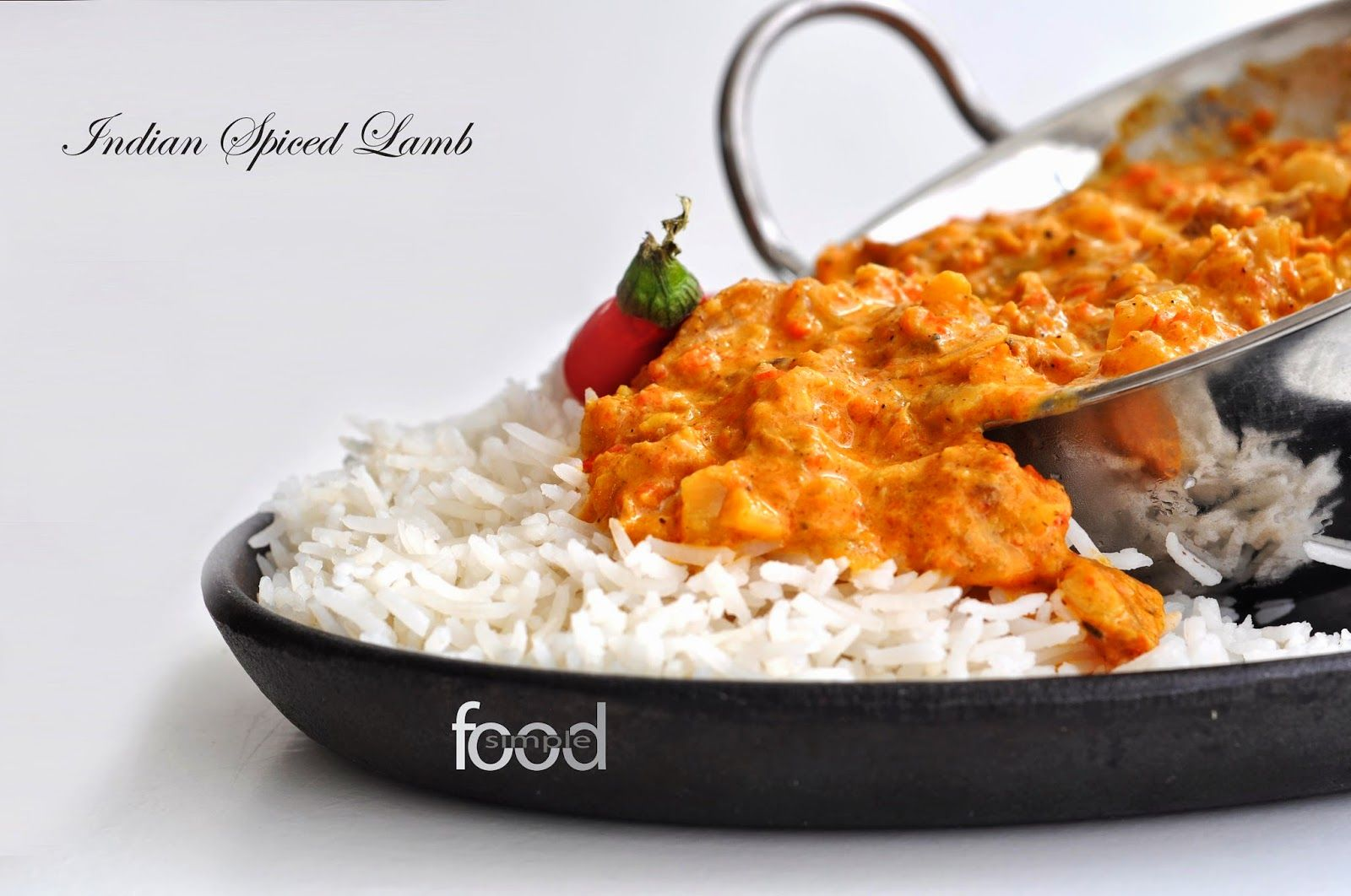 Indian Spiced Lamb ~ Simple Food