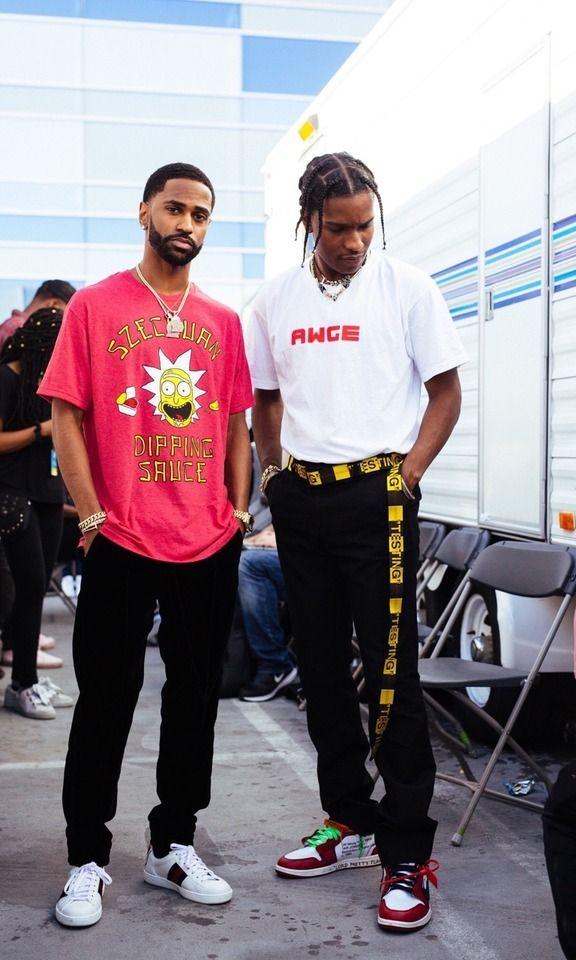 ef70c089 Big Sean and Asap Rocky | M U S I C A R T I S T S in 2019 | Asap ...
