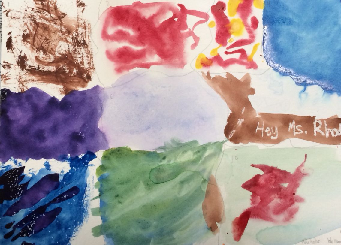 My first watercolor painting 4-13-15