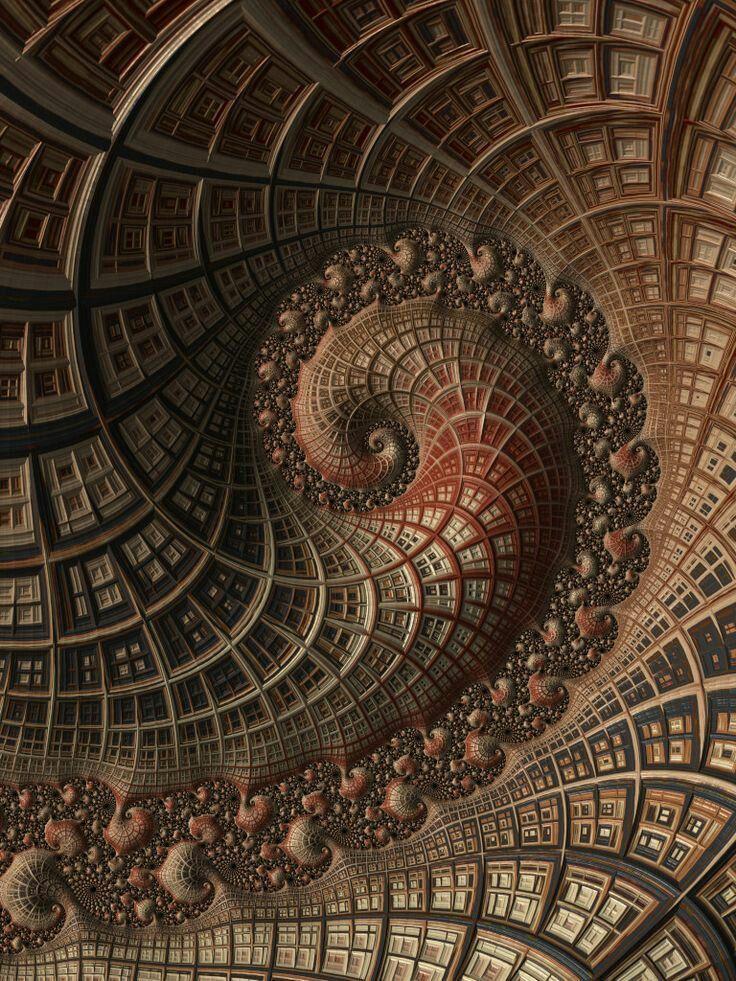 Fibonacci Spiral in 2019   Fractal art, Fractals, Lovers art