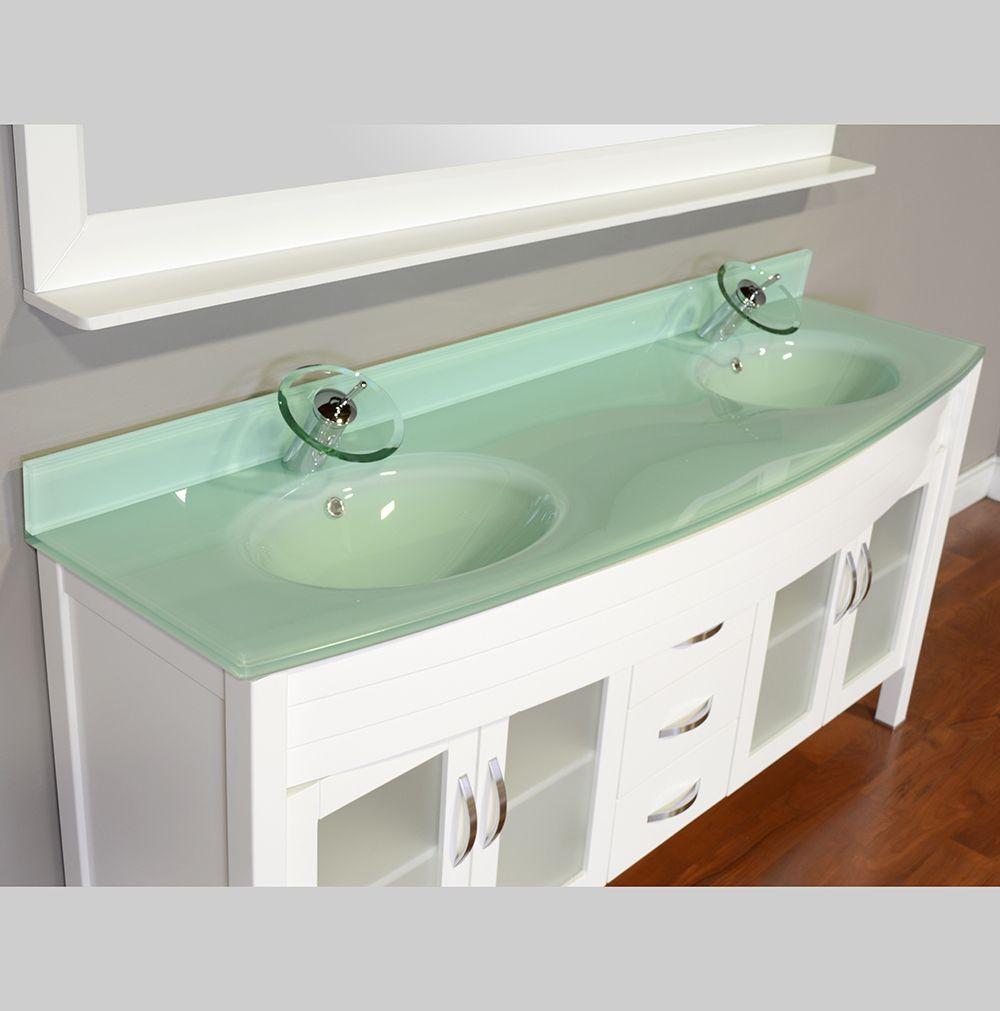 Alya Bath Elite Collection Aw 082 60 W White Double Modern