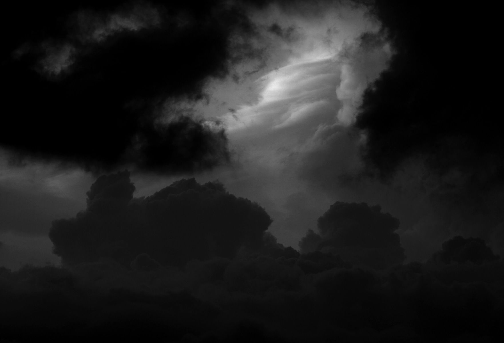 Clouds on Pinterest | Storm Clouds, Black N White and ...