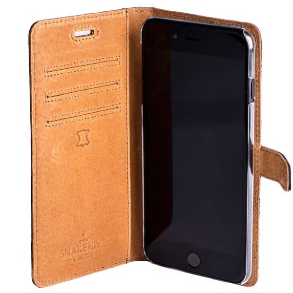 outlet store 8a38b ee792 Vintage Black Leather Wallet - Apple iPhone 7 Plus | Technology ...