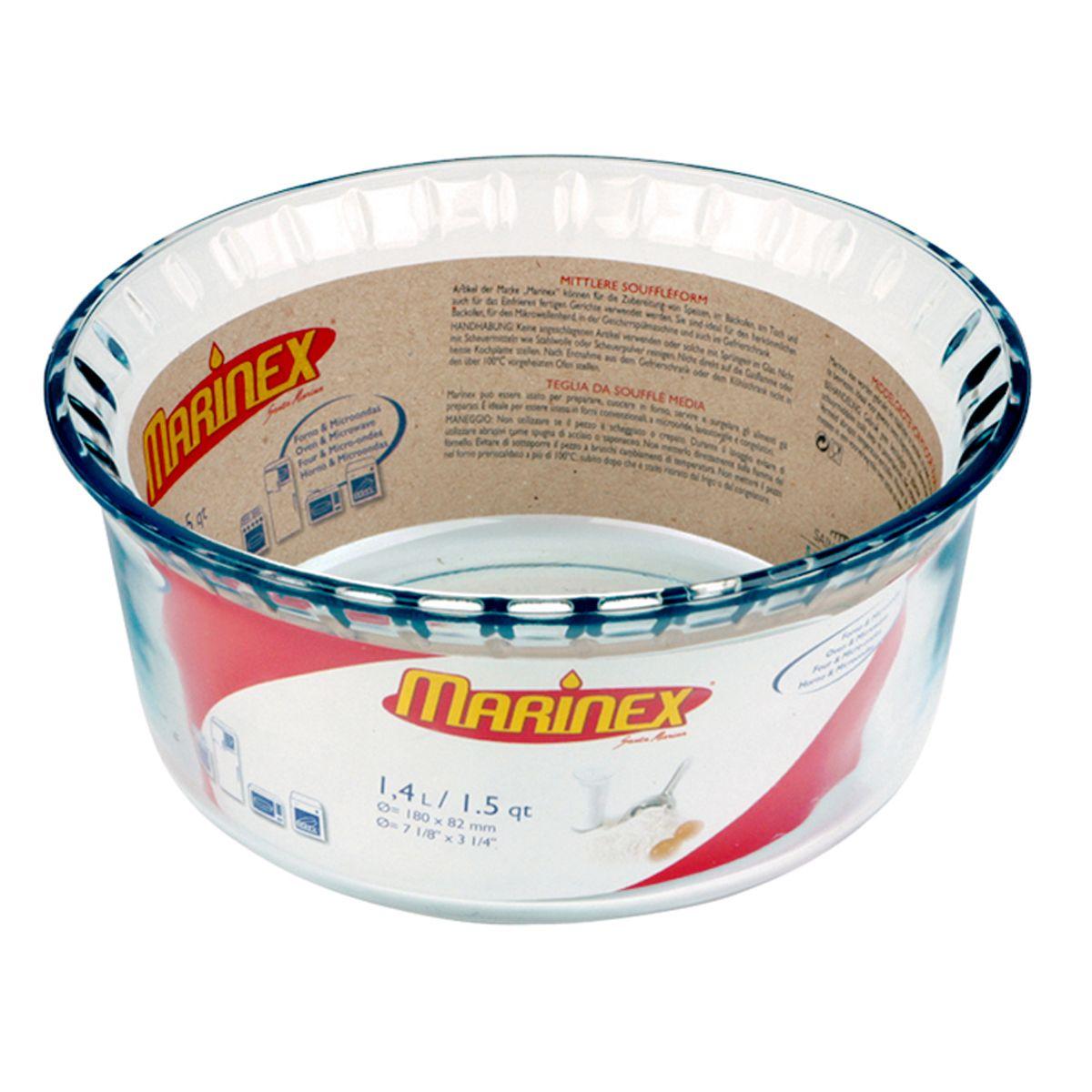 Marinex brazil souffle bowl the marinex line of bakeware