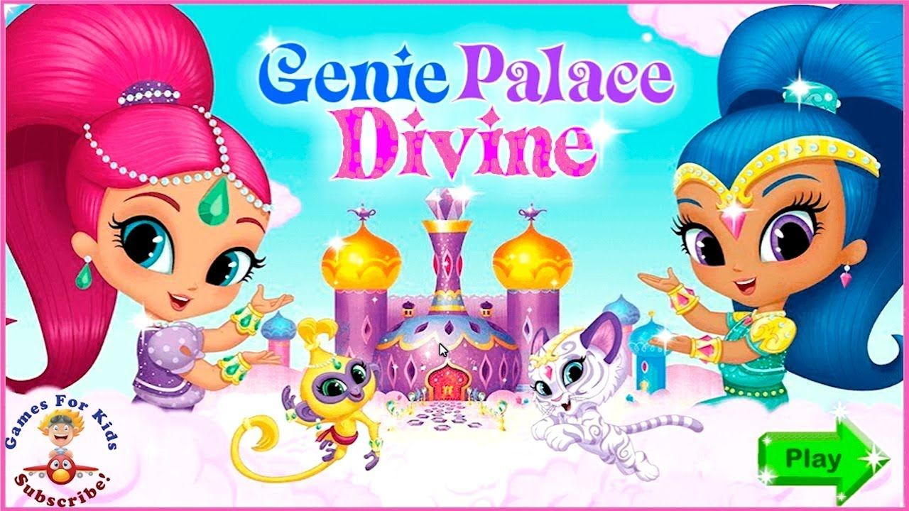 ed67805edf #Gameplay Shimmer and Shine | Genie Palace Divine - #Baby #Games for Kids