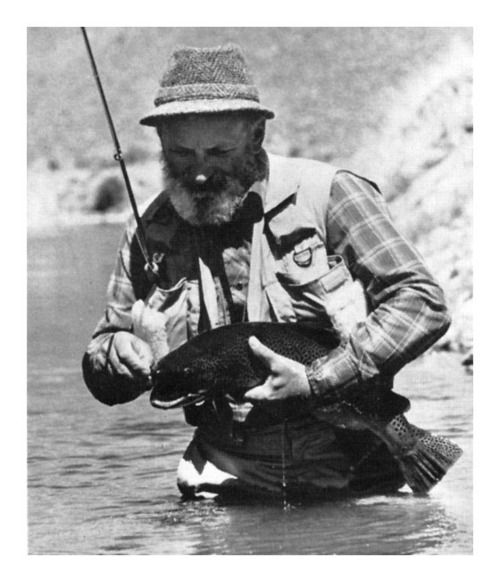 Fly Fishing Legends: Al Troth (1930-2012)  Montana fishing guide and master fly tier Al Troth is best remembered for his Elk-Hair Caddis, which first came to the fly-fishing public's attention in a 1978 article in Fly Tyer. A rugged, deceptively simple fly it is virtually unsinkable and has become an enduring pattern across North America.  Source: Orvis News