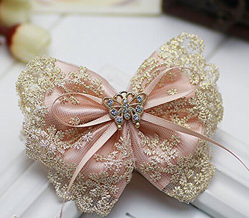 store uk availability release info on Cfalaicos Hair Accessories Korean Women Pink Bow Hair Clip ...