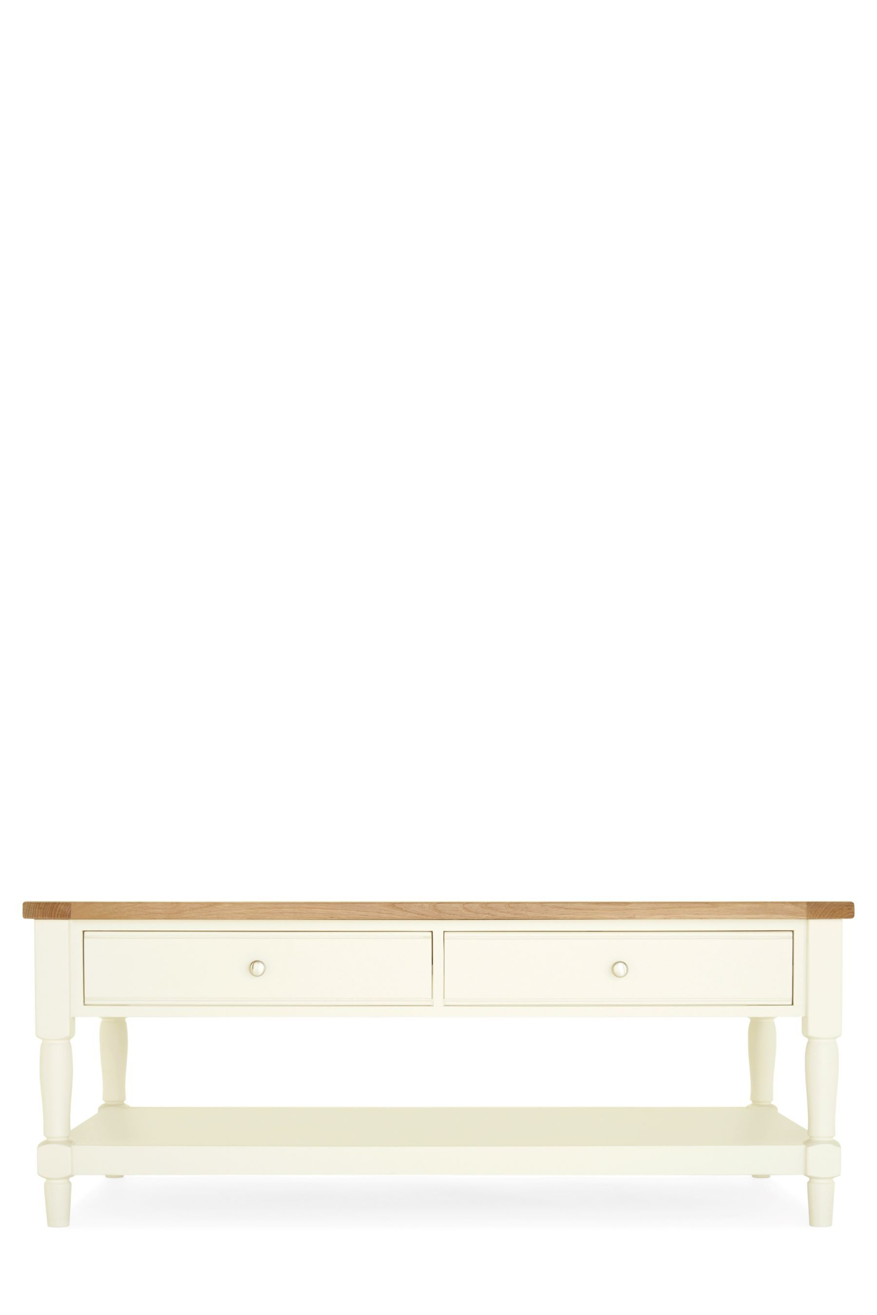 Next Shaftesbury Painted Coffee Table Cream Painted Coffee
