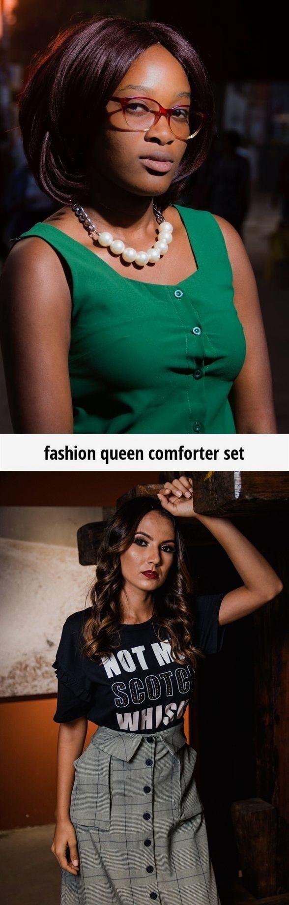 Fashion queen comforter set fashion th