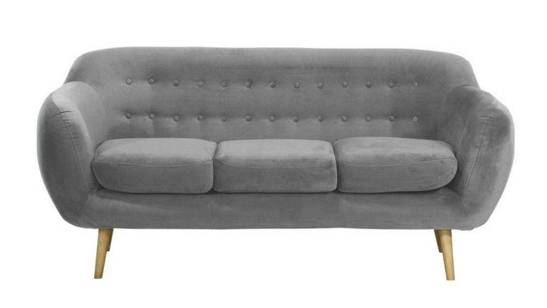canap 3 places vintage au design scandinave ondigy canap mobilier moss ventes pas. Black Bedroom Furniture Sets. Home Design Ideas