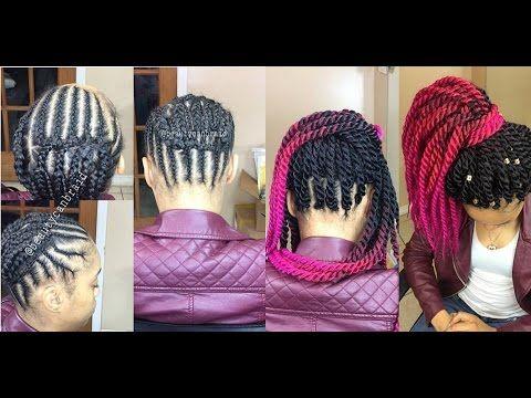 Best Braiding Pattern 4 Crochet Ponytail Youtube Crochet
